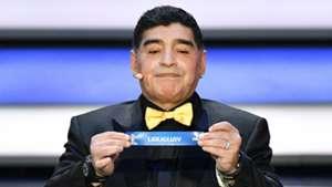 Diego Maradona World Cup 2018 draw