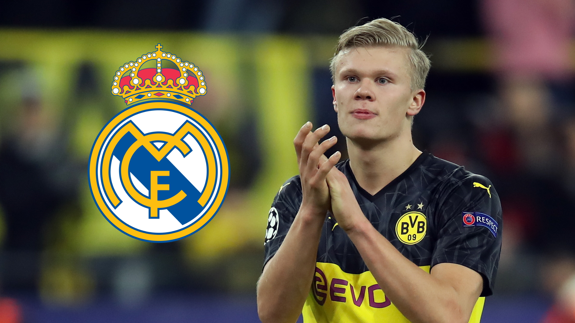 'Haaland is ready to play for Real Madrid' - Dortmund striker backed to 'succeed' at Santiago Bernabeu