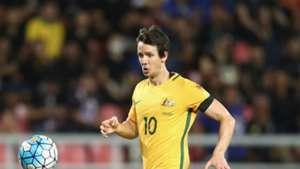 Robbie Kruse Thailand v Australia World Cup qualifying 15112016
