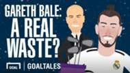 Gareth Bale: A Real waste (cartoon)