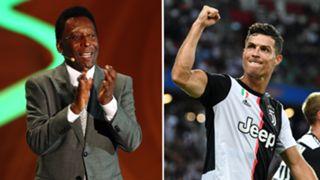 Pele/Cristiano Ronaldo split 2019