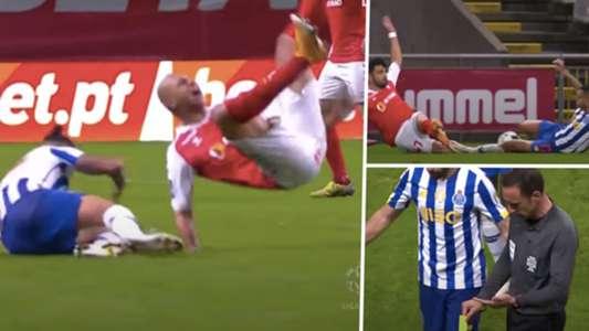 VIDEO: Tecatito, sorprendentemente expulsado en el empate del Porto contra Braga | Goal.com