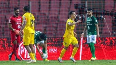 Leandre Tawamba - Abdullah Aljoui Al Ahli Al Taawon SPL 2020-2021