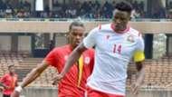 Michael Olunga of Harambee Stars Kenya v Uganda.