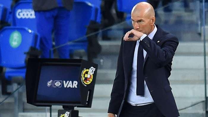 Zidane y el VAR, Real Madrid