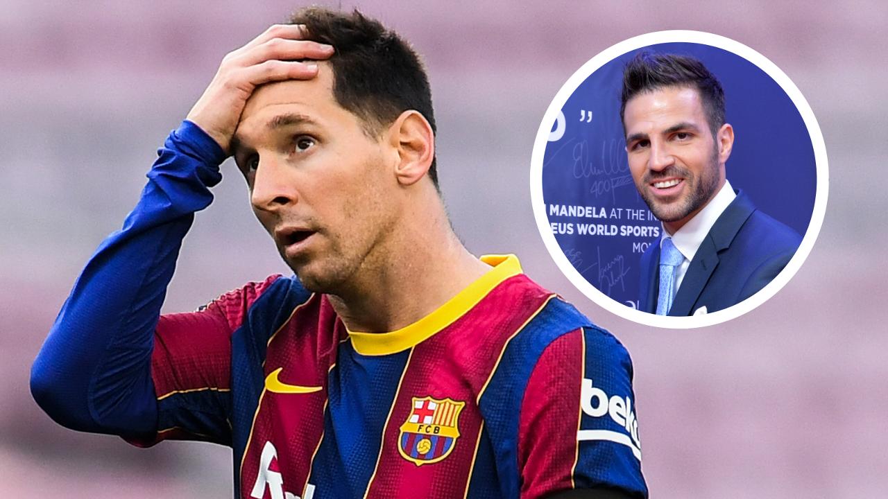 Cesc Fabregas and Lionel Messi main image
