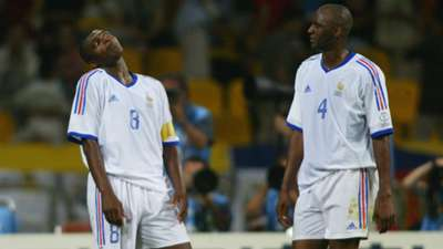 Marcel Desailly Patrick Vieira France World Cup 2002