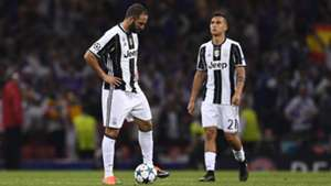 Higuain Dybala Juventus Real Madrid