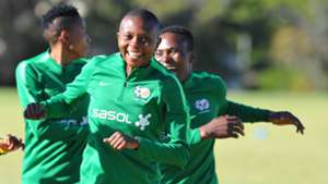 Nompumelelo Nyandeni South Africa Banyana Banyana at training