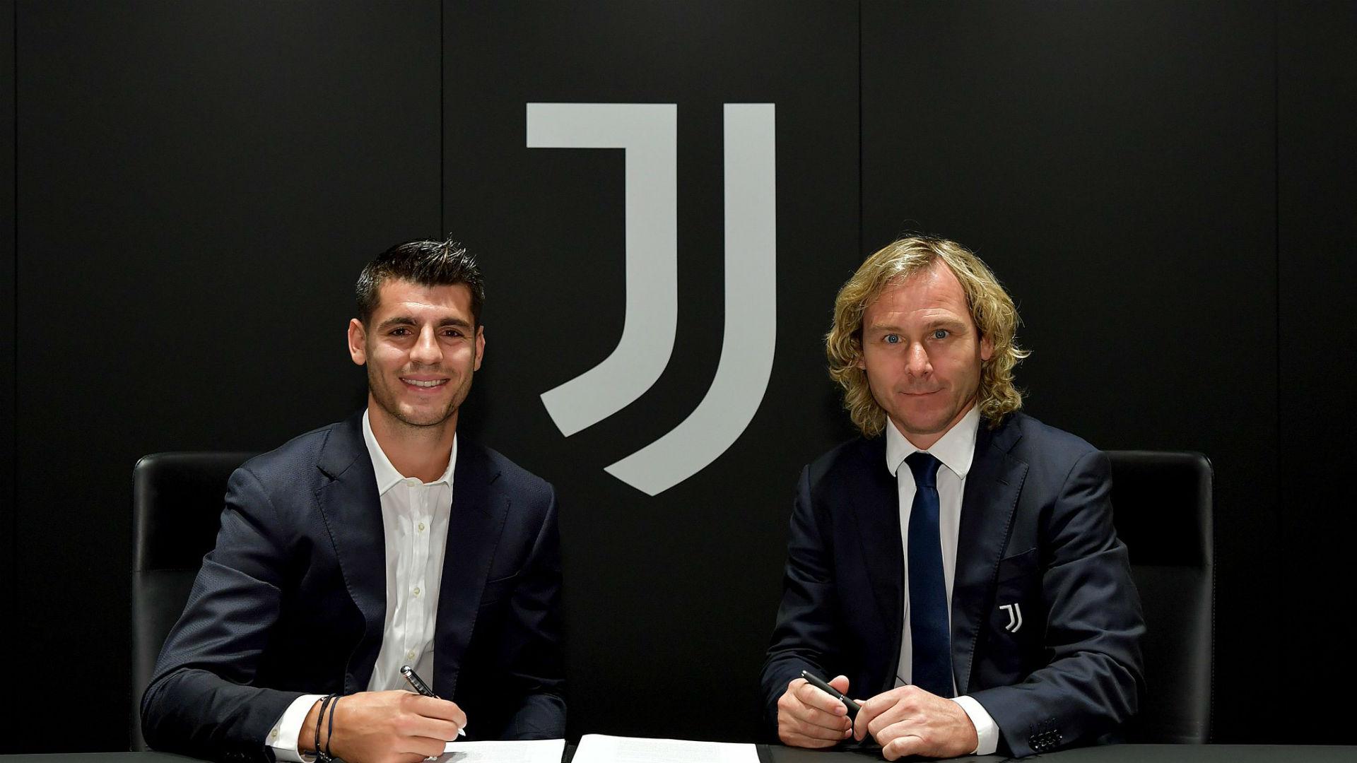 La Juventus riabbraccia Alvaro Morata