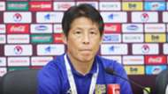 Coach Akira Nishino | Press Conference before Vietnam - Thailand | World Cup 2022 qualification (AFC)