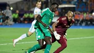 Mbaye Niang, Rais M'Bolhi - Senegal v Algeria