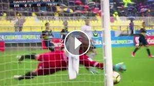 play gol de Paredes en Everton Colo Colo