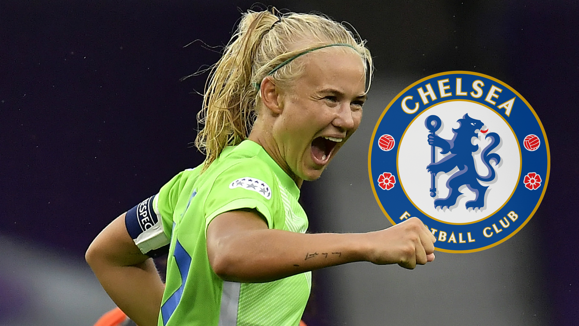 Danish star Harder joins WSL champions Chelsea from Wolfsburg