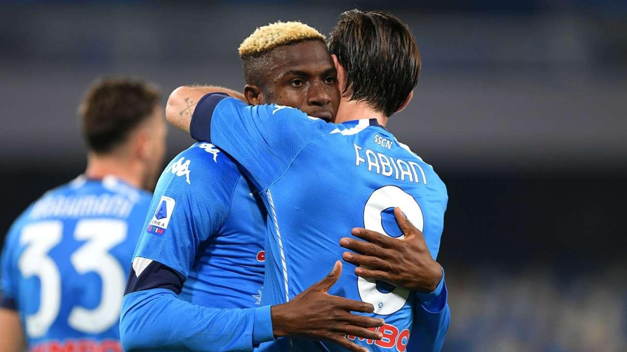 Victor Osimhen Napoli Bologna Serie A