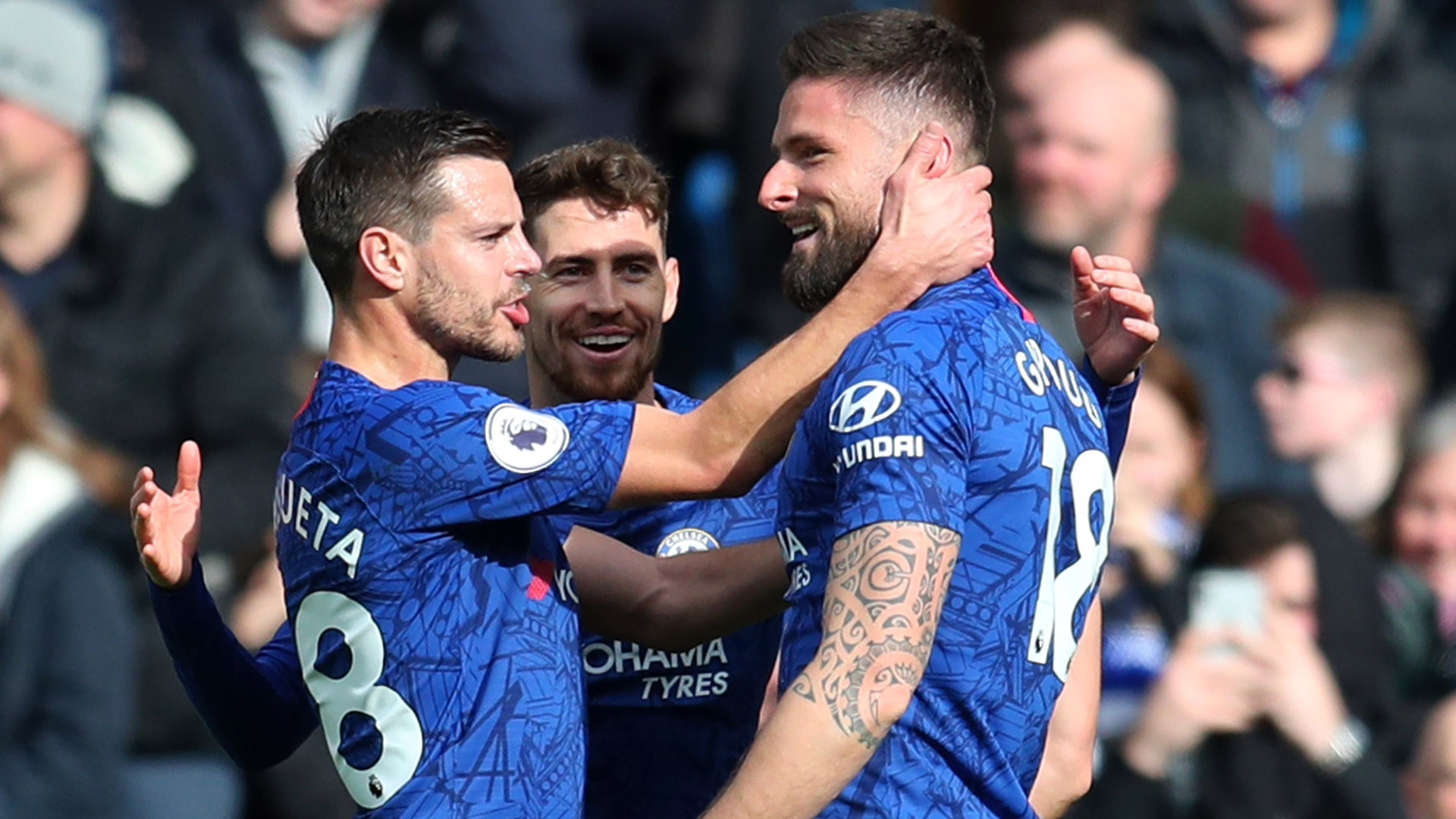Giroud sends message to Lampard that he can be Chelsea's main striker