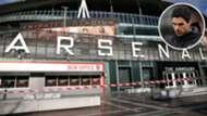 Emirates Stadium Mikel Arteta GFX