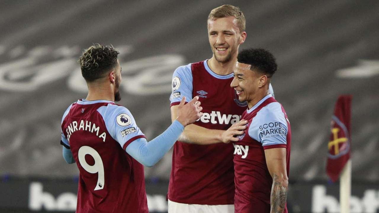 Said Benrahma, Tomas Soucek, Jesse Lingard, West Ham, Premier League 2020-21