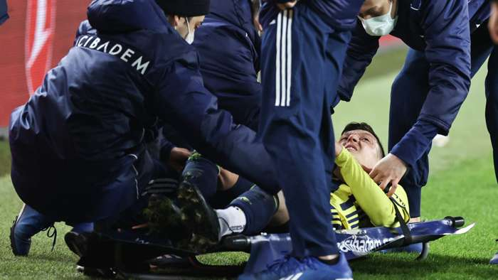 Mesut Ozil injury Fenerbahce
