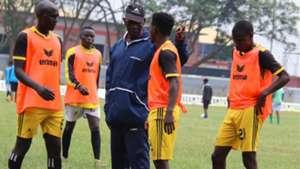 Tusker coach Sam Timbe.