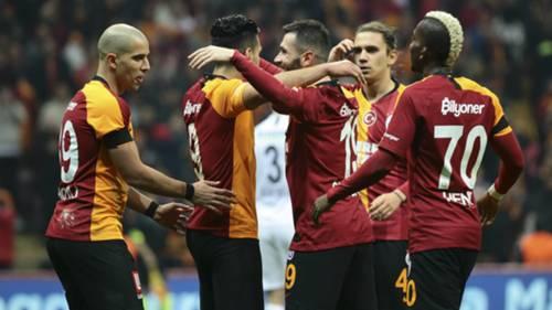 Galatasaray Feghouli Onyekuru Falcao Omer BayramGenclerbirligi 03012020