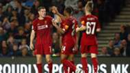 MK Dons v Liverpool Goal Celebration 09252019