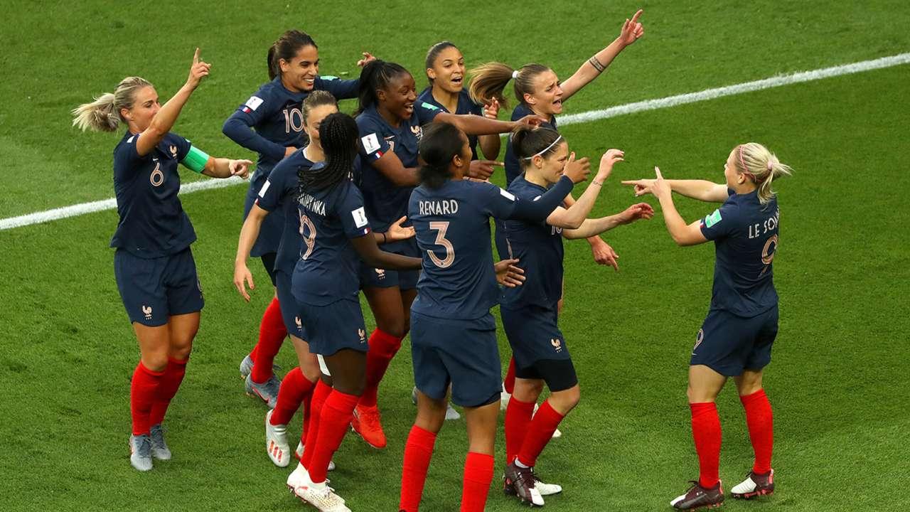 France South Korea Women's World Cup 070619