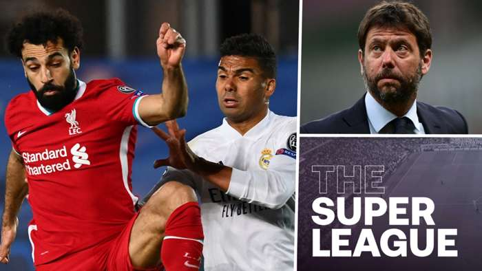 Super League blog Liverpool Real Madrid Andrea Agnelli