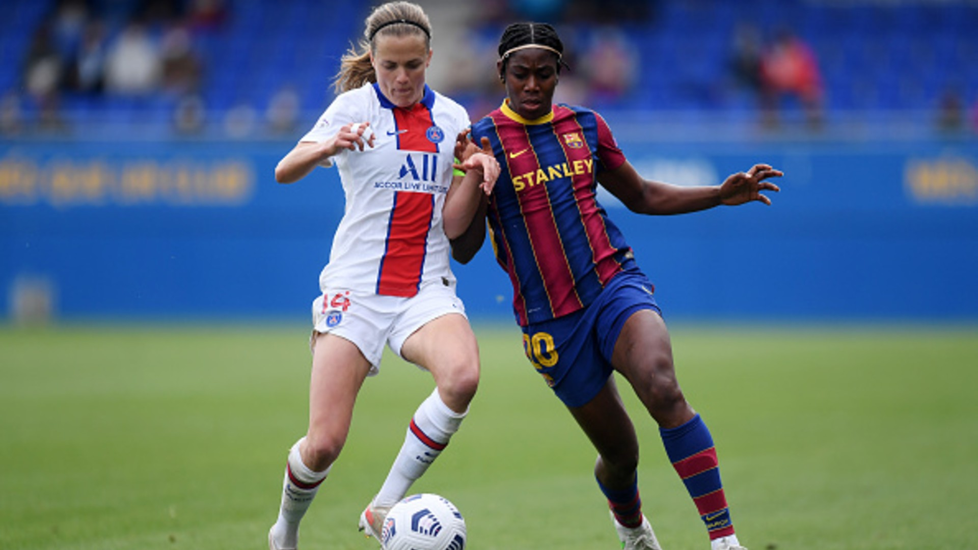 Oshoala's Barcelona reach second Champions League final after PSG triumph |  Goal.com