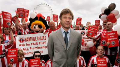 Sean Bean Sheffield United