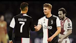 Juventus stars De Ligt and Ronaldo share similar mentality – Ajax CEO Van der Sar