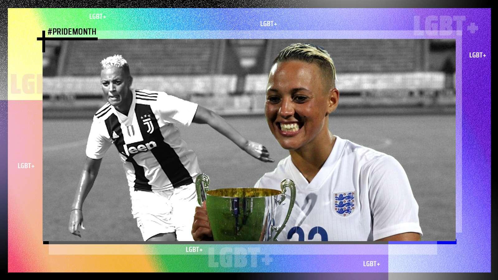Lianne Sanderson LGBT Pride Month