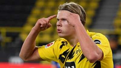 Erling Haaland Dortmund 2020-21