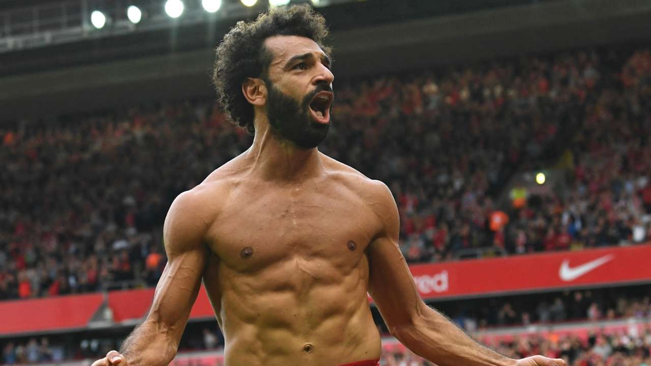 Mohamed Salah of Liverpool and Egypt.