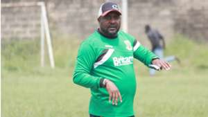 Coach Francis Kimanzi of Mathare United.