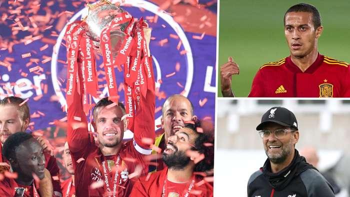 Liverpool Jordan Henderson Jurgen Klopp Thiago Alcantara GFX