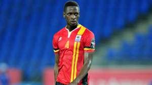 Murushid Juuko of Uganda during the 2017 Africa Cup of Nations Finals match between Uganda.