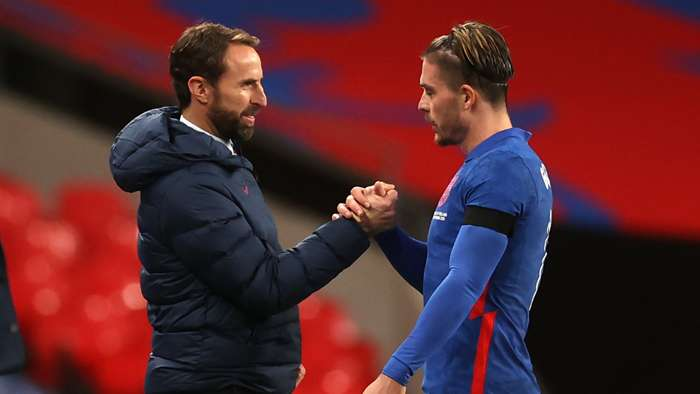 Southgate/Grealish England 2020