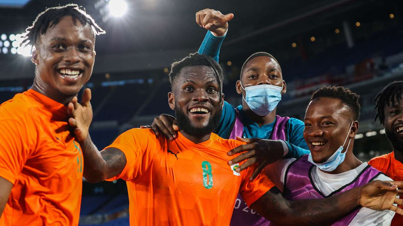 Franck Kessie Ivory Coast Olympics