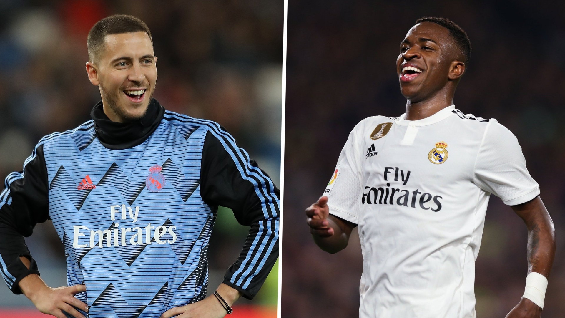 Vinicius savours chance to play with Hazard at Real Madrid