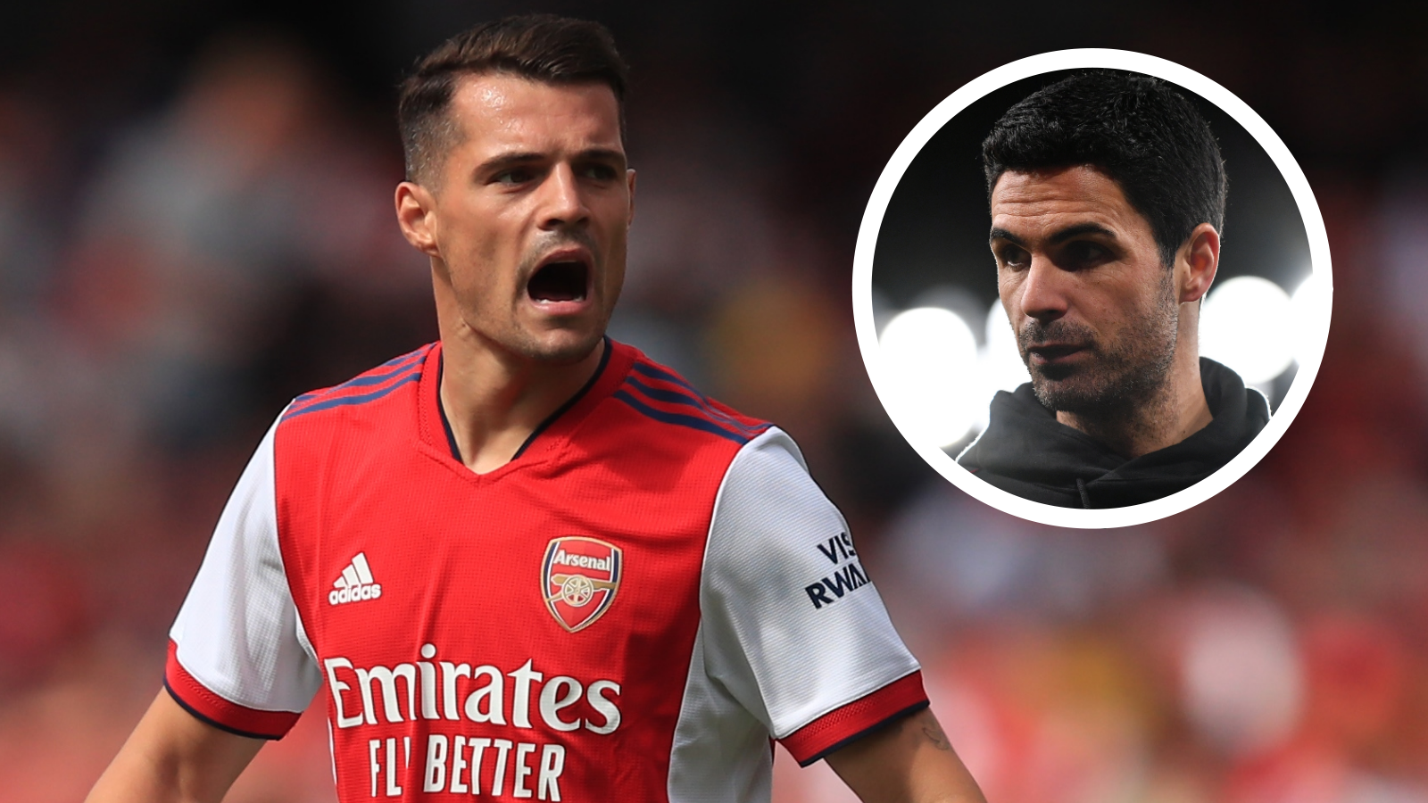 'Xhaka is staying at Arsenal' - Arteta confirms Roma move is off