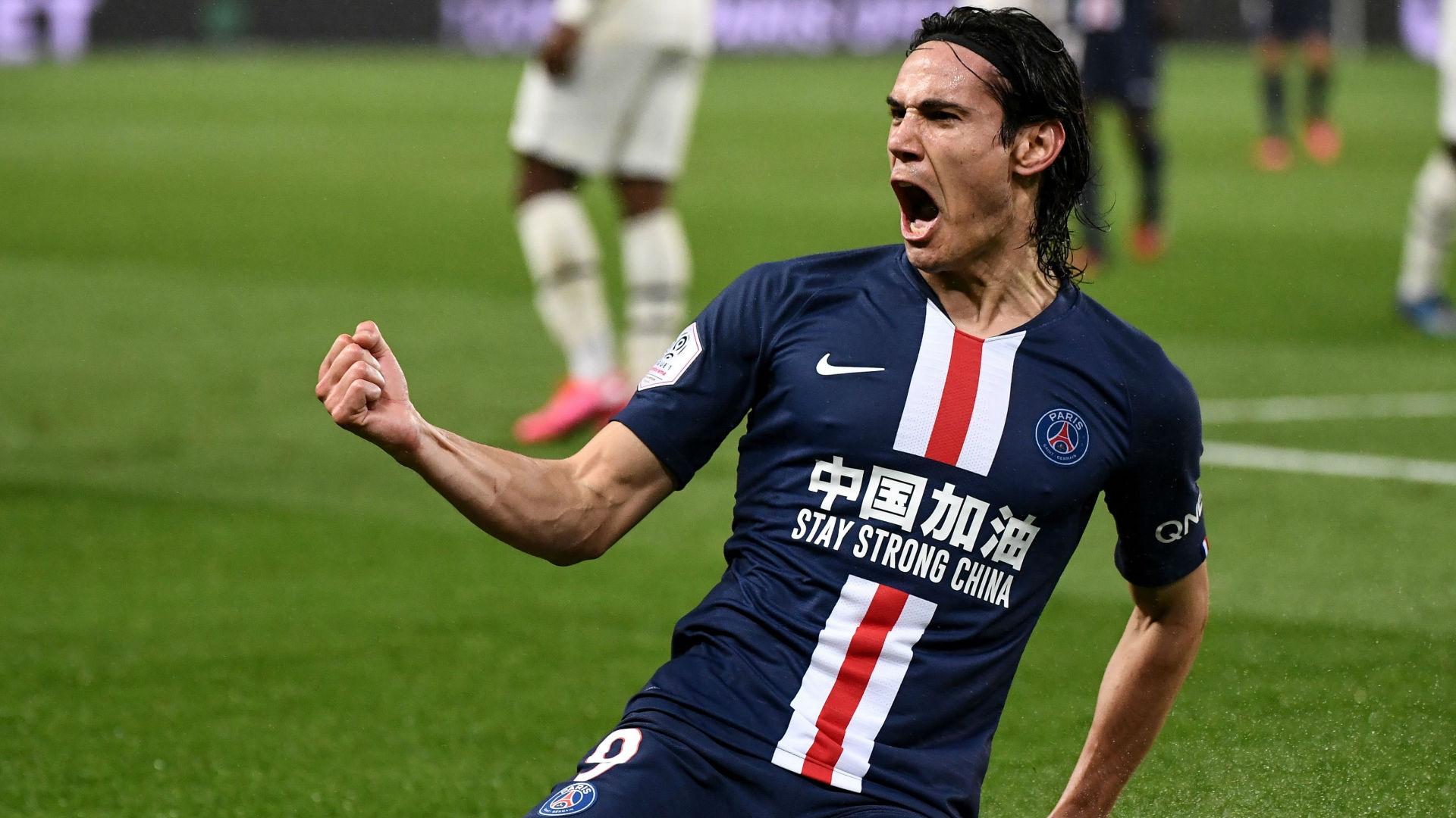 Cavani makes history as PSG win seven-goal thriller