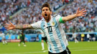 Lionel Messi Argentina Nigeria World Cup Russi 2018 26062018