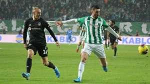 Domagoj Vida Rijad Bajic Konyaspor Besiktas Super Lig 11232019
