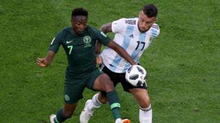 Nigeria v. Argentina - Ahmed Musa