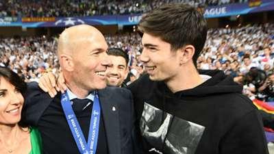 Zinedine Zidane Theo Zidane 2018