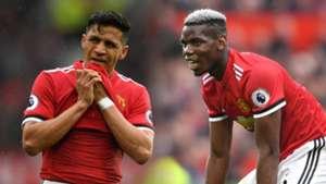 Alexis Sanchez, Paul Pogba, Man Utd