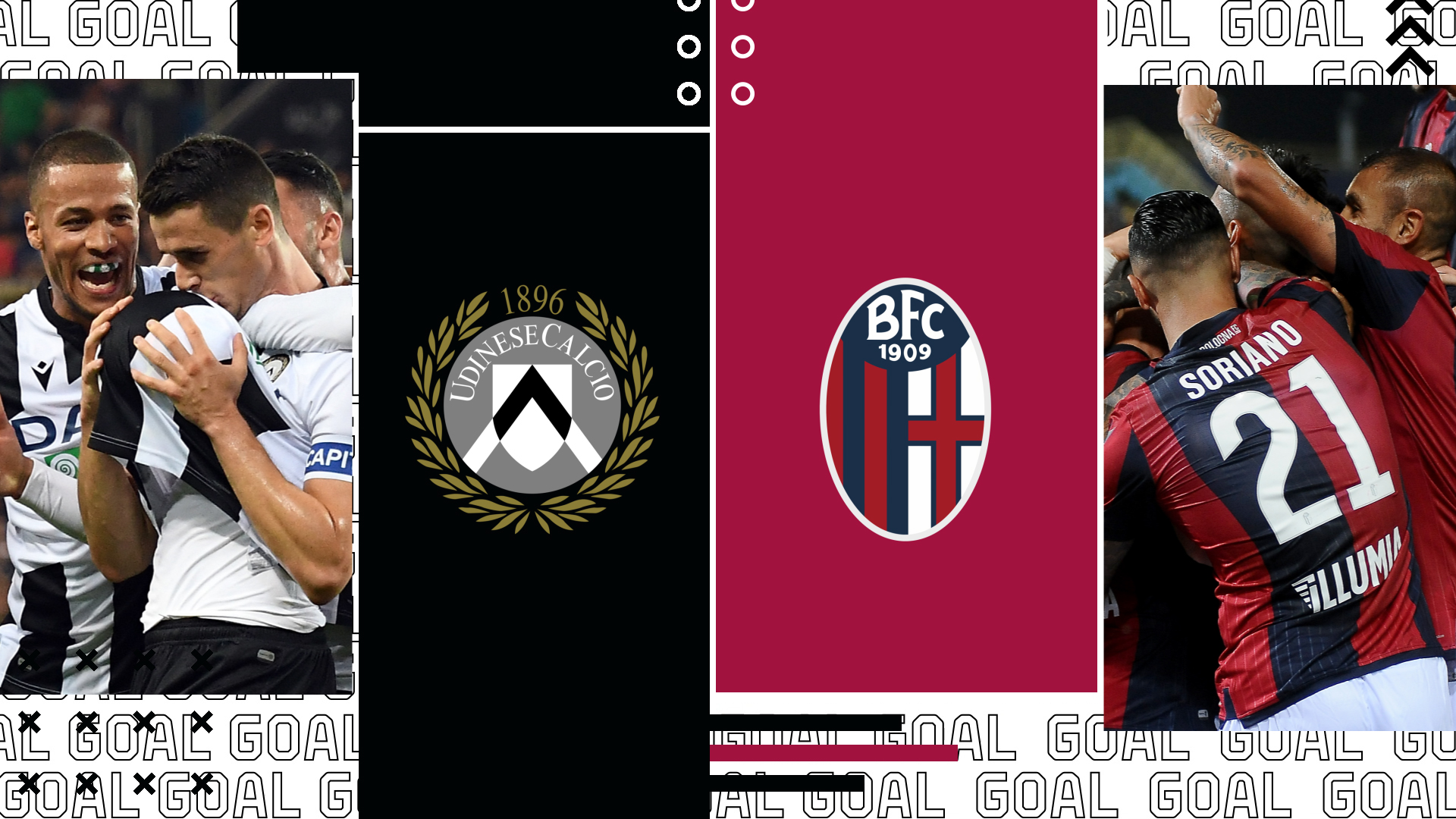 Coppa Italia, dove vedere Udinese Bologna in Tv e streaming