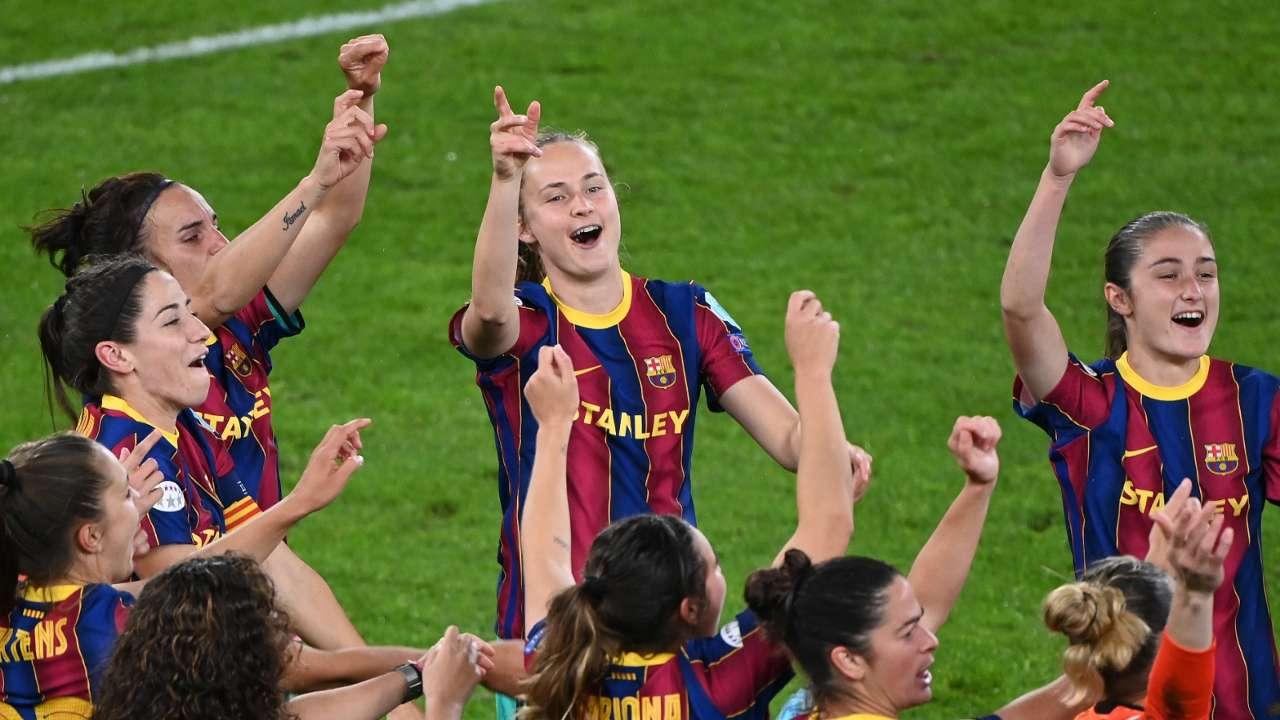 Caroline Graham Hansen Barcelona Women 2020-21