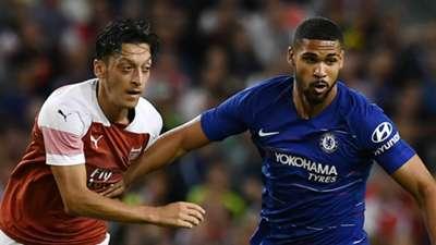 Mesut Ozil Arsenal Ruben Loftus-Cheek Chelsea